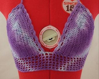 Tie Dye Crochet Bralette