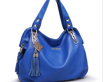 Sybaritic Prosaic Soft Faux Leather Medium Shoulder Bag