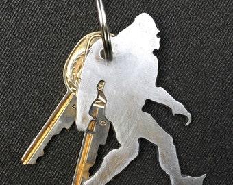 Sasquatch Keychain