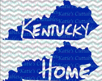 Kentucky Home Name Deign .SVG/.DXF/.EPS and .png Files for EveryVinyl Cutting Machine