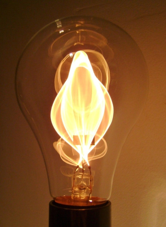 Light bulbs that look like flames