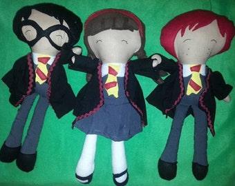 wizard inspired friends dolls