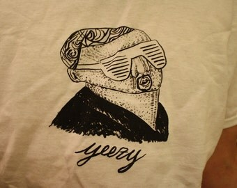 Kanye West Screen printed T-Shirt !