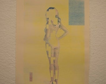 CMYK screenprint