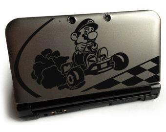 MARIO KART DECAL Nintendo 3ds decal Nintendo Xl decal Macbook decal Laptop decal Car decal