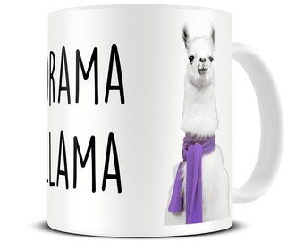 Drama Llama Mug - llama gifts - funny coffee mugs - gift for her - office gift - best friend gift - sister gifts - MG542