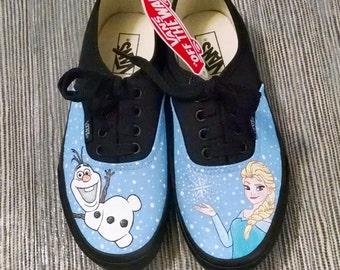 Frozen Custom Kids Vans