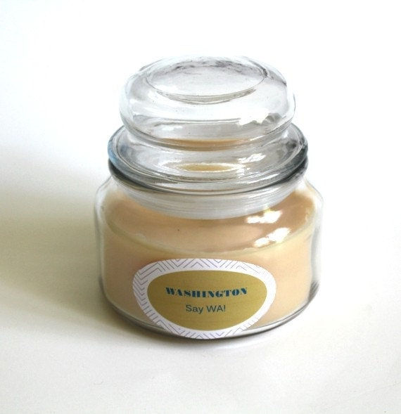 washington state scented candle souvenir candle gift candle united