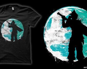 Cloud Cover - Cloud Strife Final Fantasy VII T-Shirt