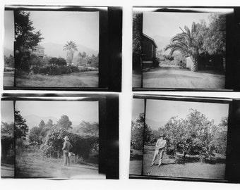 Montecito, California by J. Dearden Holmes, 1920s original Antique Photo Set of 4 photos, collectible