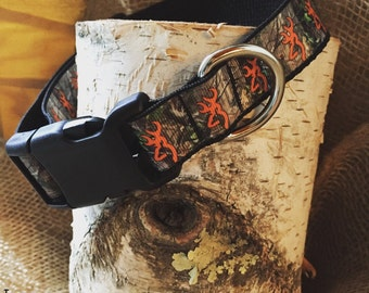 Dog Collar Camouflage, Browning Collar, Camo and Browning Dog Collar