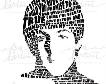 Paul McCartney Beatles Lyrics Portrait