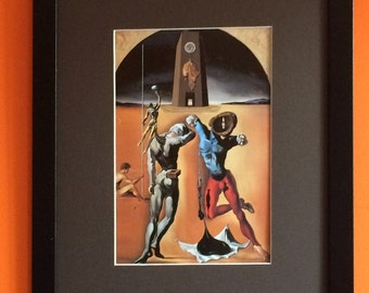 Poetry of America by Salvadore Dali 40cms x30cms