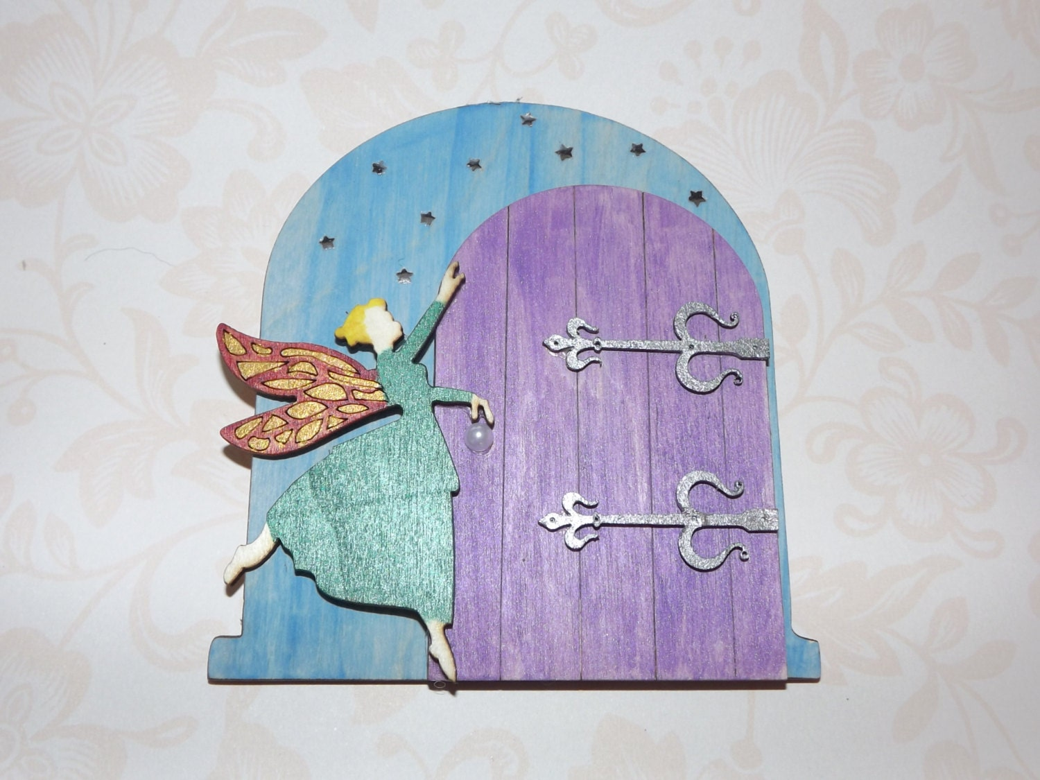 Fairy door fairy garden fairy house fairy accessories for Elf door accessories