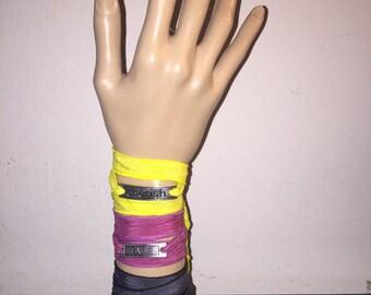 100% Silk Wrap Bracelet