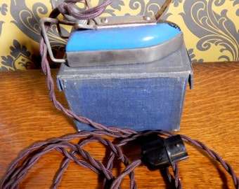 A Vintage, Retro Collectable Travelling Iron,Travella, Boho , Shabby Chic,