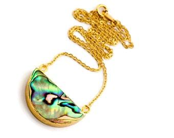 Abalone Necklace, Abalone Shell Necklace, Paua Shell Necklace, Abalone Pendant, Abalone Jewelry, Abalone Shell Jewelry, Paua Shell Jewelry