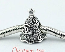 CHRISTMAS Charms for Pandora Bracelet. 100% Genuine Silver. S925 for European bracelets. New unboxed. Santa Christmas tree reindeer Rudolph