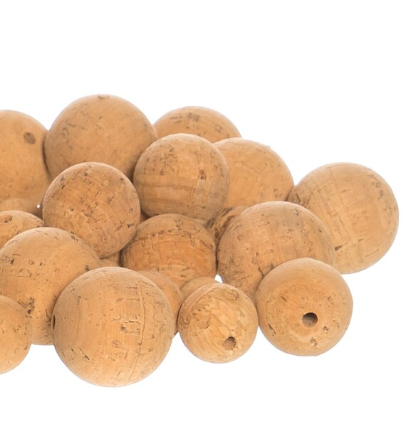 Cork Beads: Cork Beads Natural 44,45 Mm.