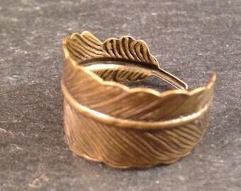 Ring Bronze Feder