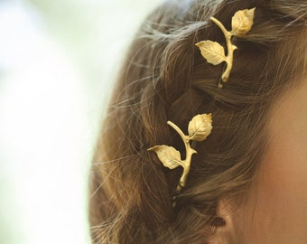Rustic Bridal Hair Accessories Rustic Wedding Hair Accessories Rustic Wedding Hair Bobby Pins Rustic Hair Clips Woodland Hair Bobby Pins