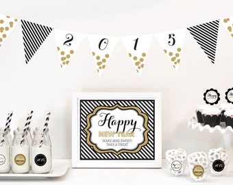 New Years Eve Decorations Starter Kit