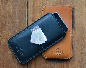 Slim iPhone 6 / 6S Case Leather Wallet Sleeve Cover