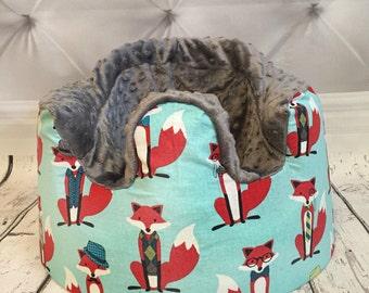 Dapper fox Charcoal Bumbo Cover