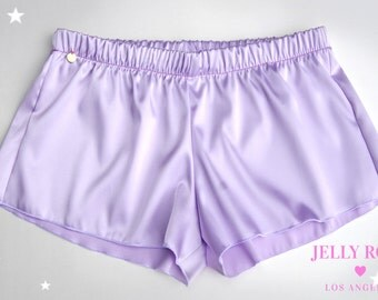 Silky Brunch Shorts in Dawn