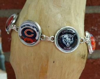 Chicago Bears stadium bracelet