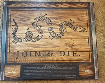 Personalized Join or Die Flag