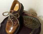 Dr. Martens 8318 Lace up | Made in England | Size 4 UK 6 US | Vintage Boho | Hipster | Brown Distressed Leather