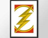 The Flash Logo - Digitall...