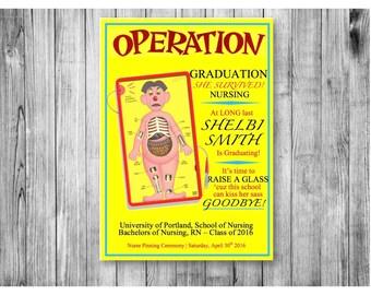 Operation Nursing Graduation Announcement