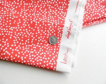 Tomato Dots Mod Basics 3 By Birch Organic Fabrics