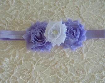 purple baby headband,purple barefoot sandles,purple bows,photo prop headband,girls headband.toddler headband,purple barefoot sandle,baby bow
