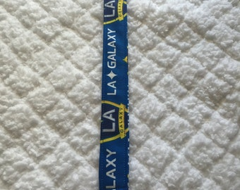 LA Galaxy Pacifier Clip