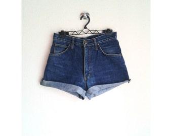 Vintage High Waisted Denim Short