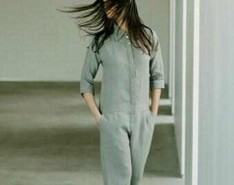 Linen Jumpsuit Motumo 15K4