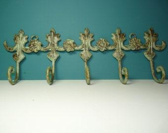 Verdigris Metal Hanger  ***NEW LOWER PRICE***
