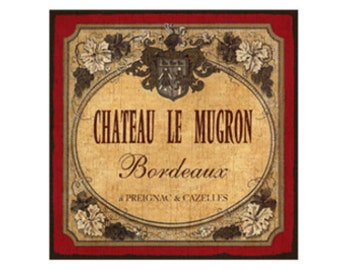 French Wine Wall Plaque