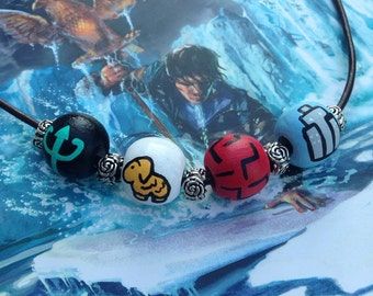 Percy Jackson Camp Half-Blood Bead Necklace