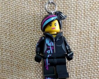 Wyldstyle Necklace (LEGO® Minifigure) - The Lego Movie, Lucy, Wildstyle, Emmett Brickowski