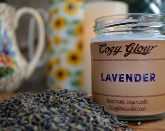 Lavender Soy Candle 6.8 ounce Jar