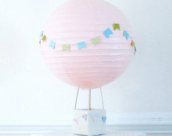 Handmade Hot Air Balloon Decorations Etsy