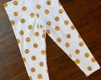 Gold Dot Leggings