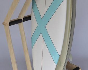 Surfboard Freestanding Floor Display Rack