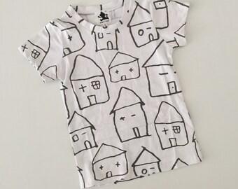 House Print Tee