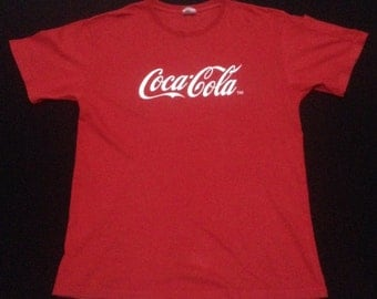 Vintage Coca-Cola T Shirt Arm Pocket