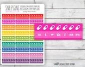 Vitamin Medicine Prenatal Pill Tracker // Planner Stickers // Perfect for Erin Condren, Plum Paper, Kikki K, and Filofax Planners